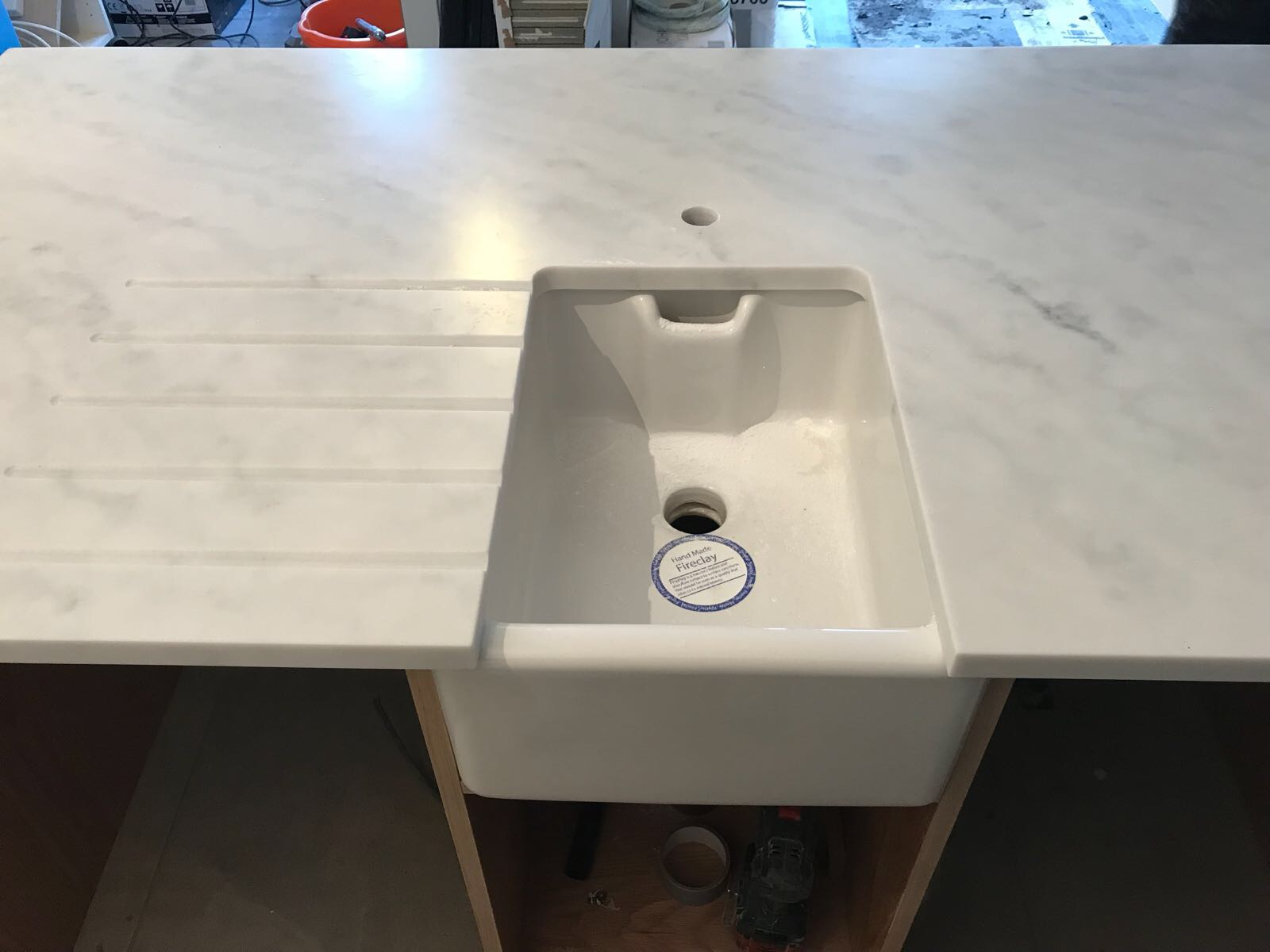 Carrara White, Walthamstow, December 2017