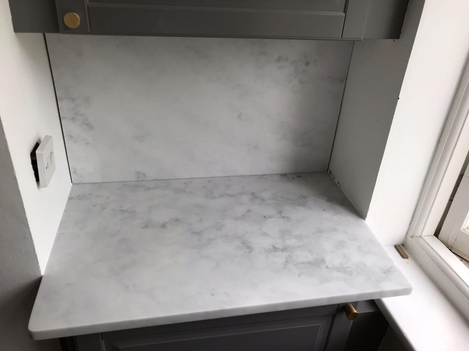 Carrara White, Perry Vale, May 2018