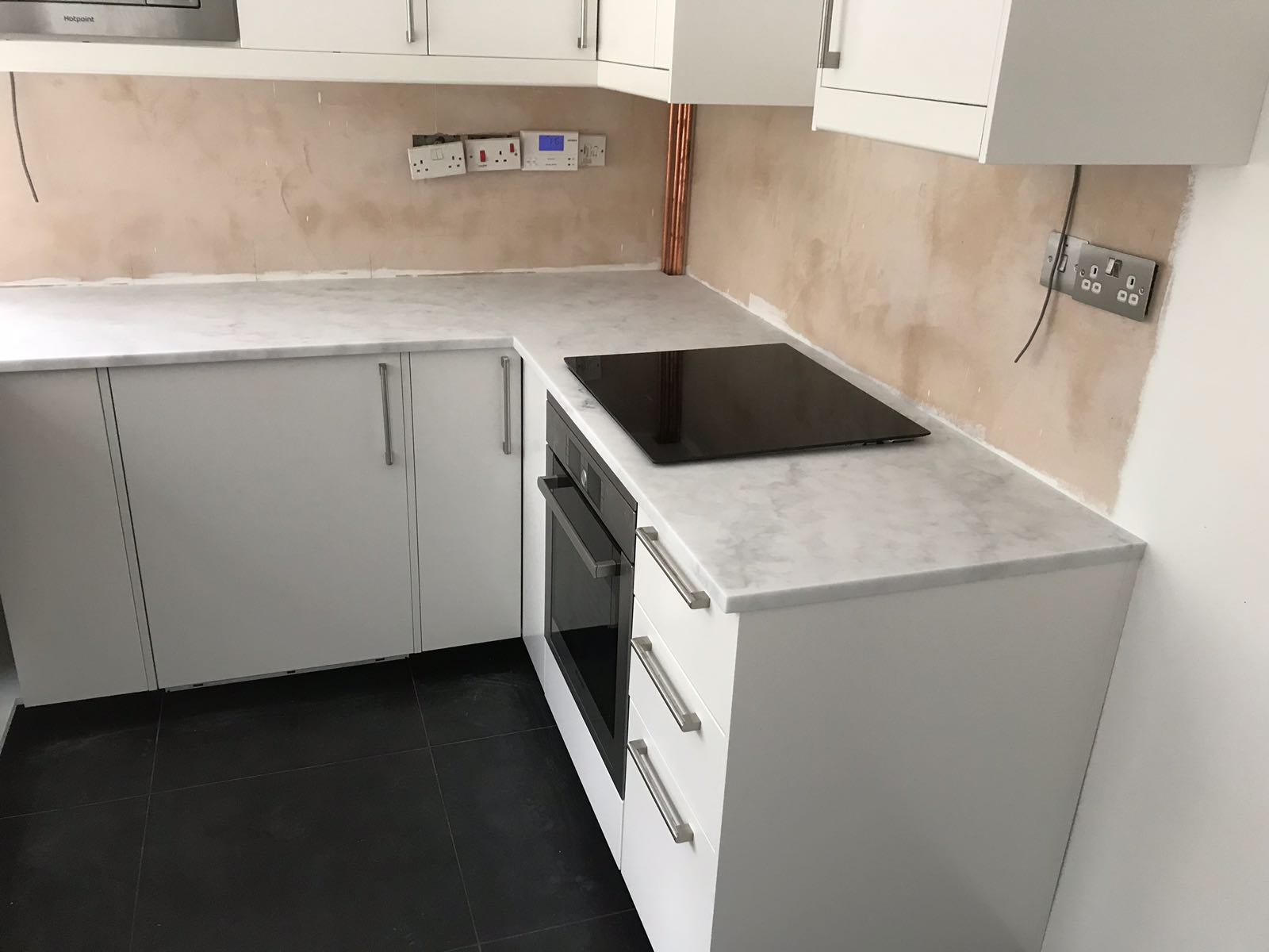 Carrara White, Woking, May 2018