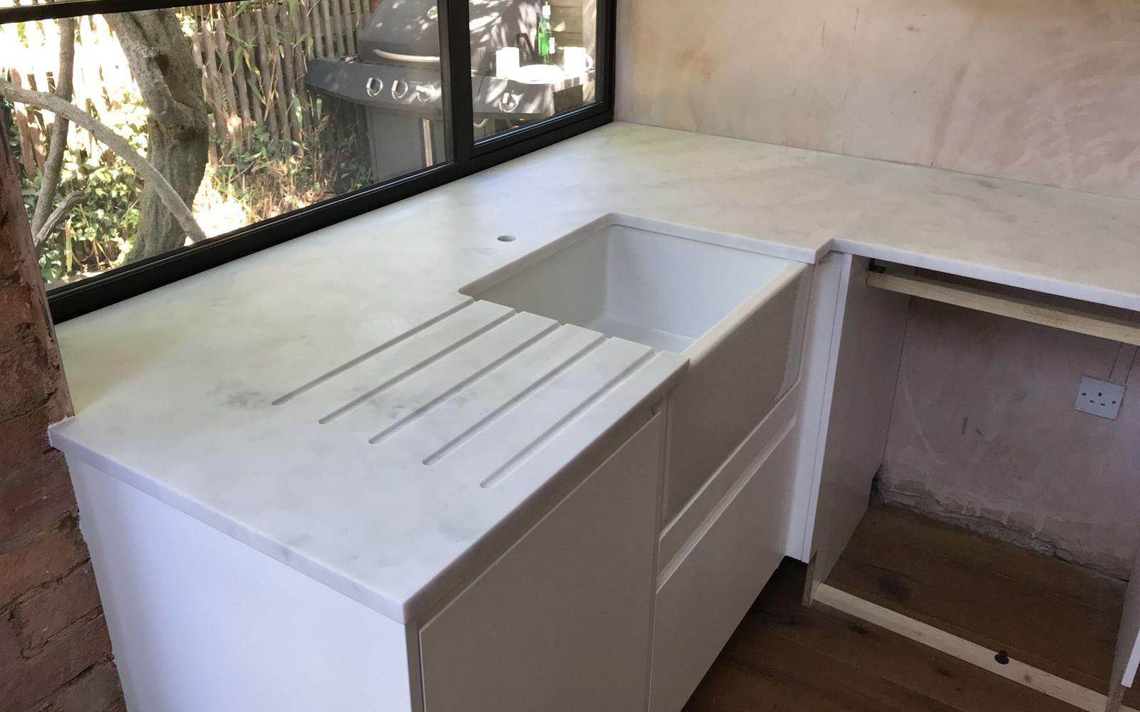 Carrara White, Loughton, August 2018