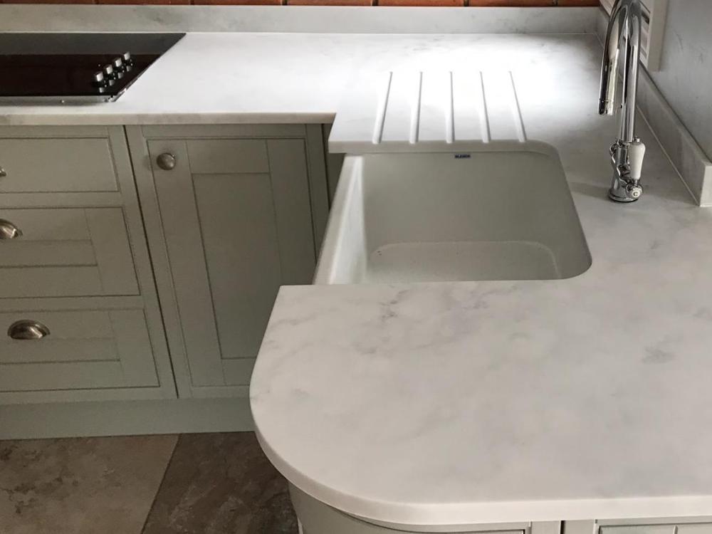 Carrara White, Danbury, August 2019