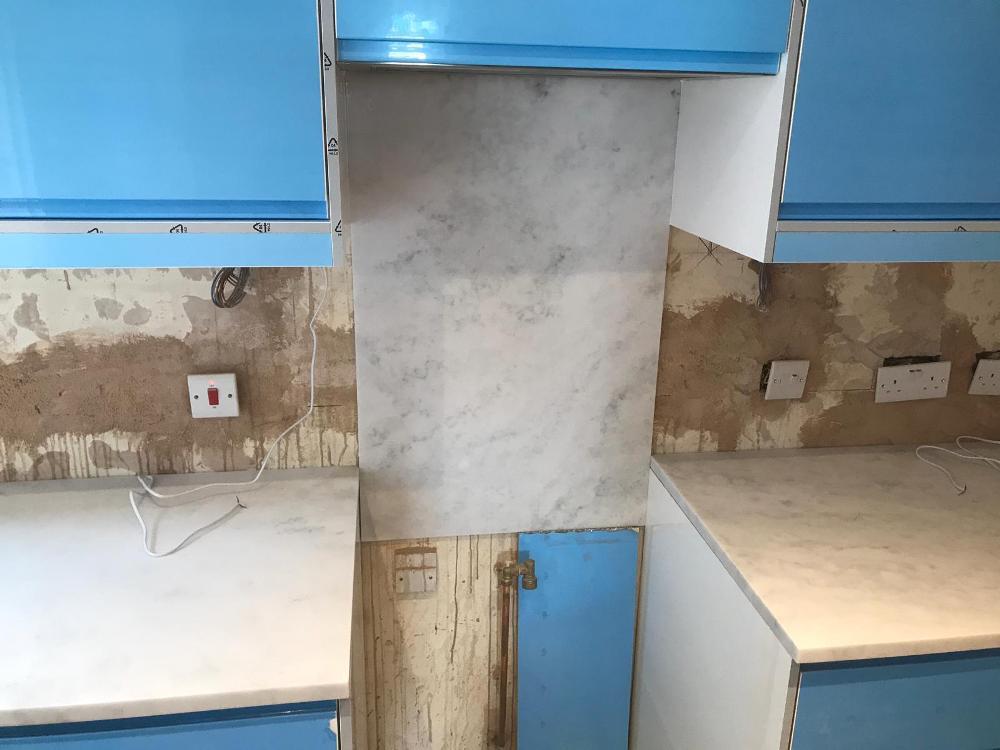 Carrara White, Hackney, April 2019